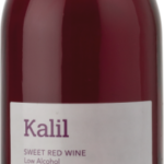 Kalil, a sweet red wine form Zion winery