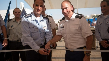 U.S. Opens First Military Base on Israeli Soil