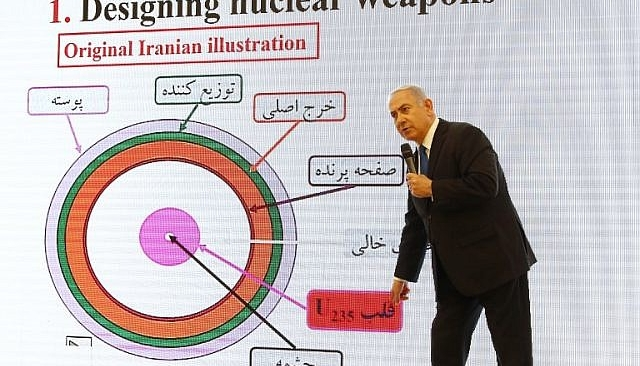 Iran's Secret Nuclear Files Revealed By Netanyahu