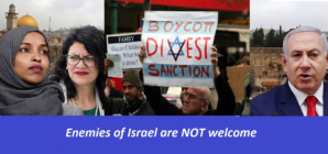 Reps Omar and Tlaib banned from Israel