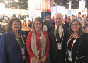 Rep. Byrne, Robin Rowan, Shay Morton, Marsha McArthur at PC2019